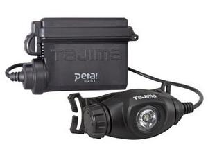 タジマ ペタLEDヘッドライトE251 LE-E251 ランプ部サイズH89xW37xD51mm 明るさ3モード(250lm) TJMデザイン TAJIMA 265289