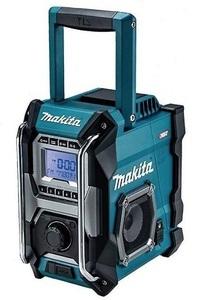 マキタ 充電式ラジオ MR001GZ 青 本体のみ 大型スピーカ×2 AC100V 10.8V対応 14.4V対応 18V対応 40Vmax対応 makita