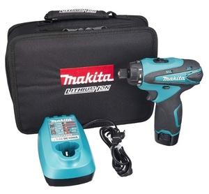 マキタ 充電式ドライバドリル DF030DWSP バッテリBL1013+充電器DC10WA+ソフトケース付 六角ビット 10.8V対応 makita