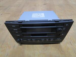 トヨタ ウ゛ェロッサ 純正 オーディオ コンポ GX110 JZX110 86120-2A460 CD カセットテープ ラジオ カセット テープ AM FM 55840