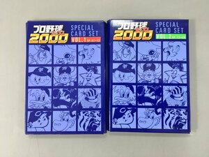 プロ野球チップス2000 スペシャルカードセット VOL.1 VOL.2 プロ野球カード 2個セット 未開封 2107LBM040