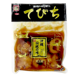 沖縄 お土産 沖縄県推奨優良県産品 コラーゲンが多く含まれている 味付てびち 800g 冷蔵
