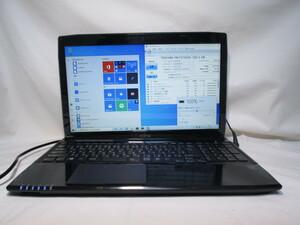 富士通 FMV LIFEBOOK AH45/M Core i3 4010U 1.7GHz 6GB 750GB 15.6インチ ブルーレイ Win10 64bit Office USB3.0 Wi-Fi HDMI [79790]
