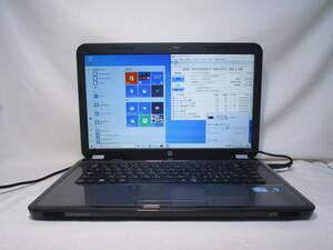 HP Pavilion g6-1105TU Core i3 2310M 2.1GHz 4GB 500GB 15.6インチ DVD作成 Win10 64bit Office Wi-Fi HDMI [79829]