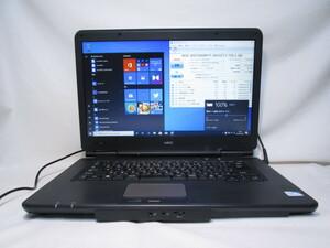 NEC VersaPro VK19E/X-D PC-VK19EXZCD Celeron B840 1.9GHz 4GB 750GB 15.6インチ Win10 64bit Office HDMI [79848]