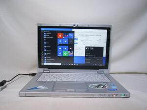 Panasonic Lets note CF-AX3SD1TC Core i5 4200U 1.6GHz 4GB 128GB 爆速SSD 11.6インチ Win10 64bit Office USB3.0 Wi-Fi HDMI [79841]