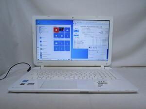 東芝 dynabook Satellite B35/35MW Core i5 4210U 1.7GHz 4GB 500GB 15.6インチ DVD作成 Win10 64bit Office USB3.0 Wi-Fi HDMI [79869]