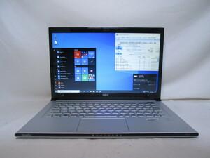 NEC VersaPro UltraLite PC-VK19SGZDF Core i7 3517U 1.9GHz 4GB 128GB 爆速SSD 13インチ Win10 64bit Office USB3.0 Wi-Fi HDMI [79885]