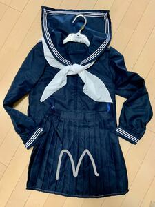 M セーラー服 長袖 コスプレ 衣装 女装