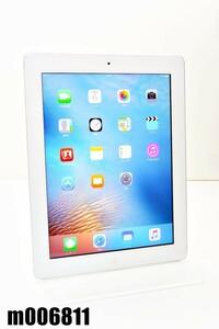 Wi-Fiモデル Apple iPad3 Wi-Fi 16GB iOS9.3.5 ホワイト MD328J/A 初期化済 【m006811】