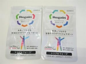 J98203RF 未使用 第一三共ヘルスケア リゲイン Regain トリプルフォース 60錠入り 2袋セット 指定医薬部外品 賞味期限2024年3月