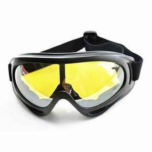 新品 ヘルメット 電動 ハーフフェイス 安全 ヘッド ボード サイクリング Goggles 黄 バイク 保護 アクセサリー