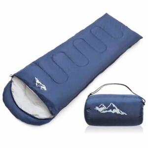 寝袋 シュラフ 封筒型 保温 軽量 210T防水 コンパクト アウトドア キャンプ 登山 車中泊 防災用 丸洗い可能 収納袋