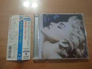 ★マドンナ Madonna ★トゥルー・ブルー True Blue ★CD ★国内盤 ★帯付 ★中古品