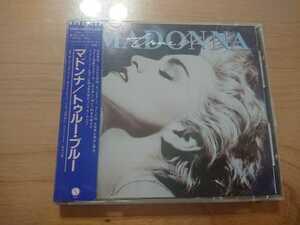 ★マドンナ Madonna ★トゥルー・ブルー True Blue ★CD ★国内盤 ★帯付 ★旧規格 ★中古品
