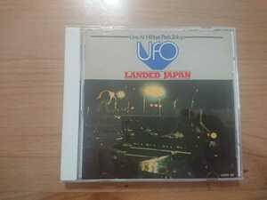 ★ユー・エフ・オー UFO ★ライヴ! LANDED JAPAN ★CD ★国内盤 ★中古品