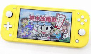Nintendo Switch Lite イエロー HDH-001 本体のみ 動作品 任天堂/ニンテンドー スイッチ ゲーム機 携帯ゲーム