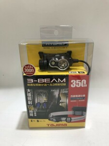 【中古品】Tajima タジマ ペタLEDヘッドライトE351セット シルバー LE-E351-SPS 充電池付き IT9MXO19ZQI4