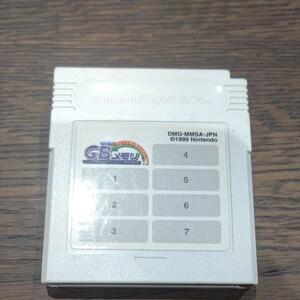 ゲームボーイ メモリ カートリッジ スーパーマリオブラザーズ デラックス GB