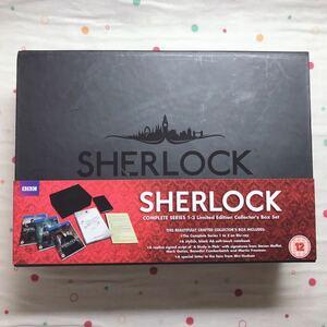 SHERLOCK コレクターズボックスセット Blu-ray 2000個限定生産品