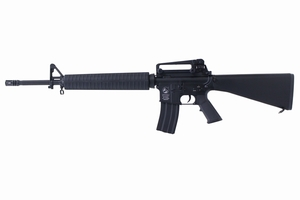 数量限定!1円スタート!DOUBLE BELL製 メタル電動ガン M16A3 リアル刻印 ブラック No.084