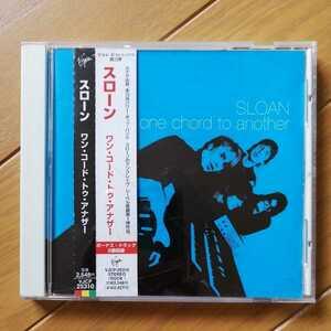 CD スローン「ワン・コード・トゥ・アナザー」パワーポップ/日本盤/解説、歌詞、帯付き