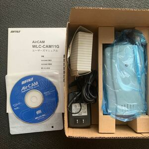 "Air CAM""WLC-CAM11G BUFFALO 無線ネットワークカメラ"