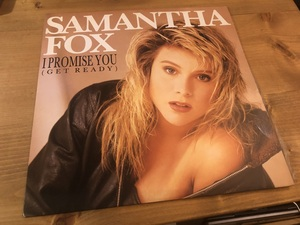 "12""★Samantha Fox / I Promise You (Get Ready) / シンセ・ポップ・ディスコ!!"