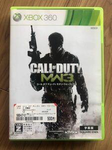 Xbox360 ゲームソフト コールオブデューティモダンウォーフェア3 CALL OF DUTY