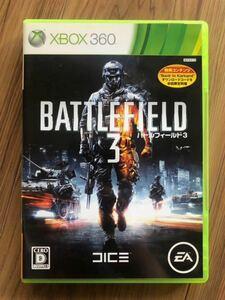 Xbox360 ゲームソフト バトルフィールド3 BATTLEFIELD