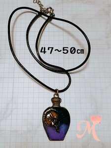 Handmade necklace resin