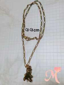 Handmade necklace antique tone