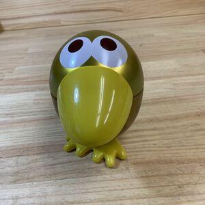 4N8728-5 しゃべる 金のキョロちゃん缶 森永チョコボール おもちゃのカンヅメ