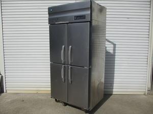 y1783-14 業務用 ホシザキ 4ドア冷蔵庫 HR-90AT-ML 2019年製 100V W900×D650×H1900 店舗用品 中古 厨房