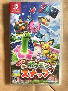 【新品未開封】New ポケモンスナップ Nintendo Switch(ニンテンドー スイッチ)ソフト