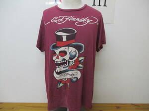 海外輸入 古着 Ed Hardy エドハーディーTシャツ ロゴ Tシャツ 夏