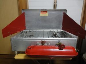 コールマン アルミ製 ツーバーナー 442A 1962~64年