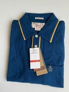 未使用 ペンギン バイ マンシングウェア 半袖カノコ地 ポロシャツ / Penguin by Munsingwear ヘリテージ XS
