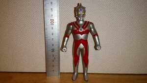 ウルトラマンA 高さ約13cm / 1990年 バンダイ 硬質 ソフビ フィギュア / ウルトラマン エース A ウルトラ 円谷プロ レトロ