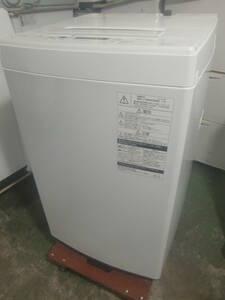 ★◇【美品】洗濯機 4.5kg 東芝 AW-45M5-W 2018年製 白 中古 小型 家電 一人暮らし用 お部屋まで搬入 送料無料 即決 57YA