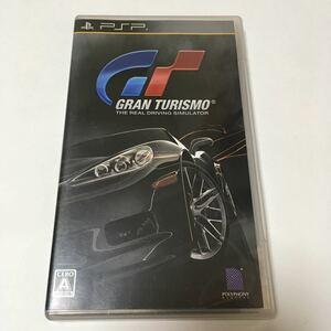 PSP ソフト グランツーリスモ GRAN TURISMO 動作確認済み プレステ PlayStation ソニー SONY