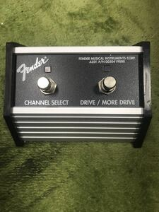 Fender CHANNEL SELECT DRIVE MORE