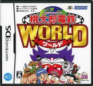 【中古】【ゆうパケット対応】桃太郎電鉄WORLD DS