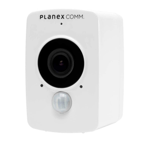 【新品訳あり(箱きず・やぶれ)】 PLANEX製 防犯カメラ どこでもスマカメ CS-QV40B