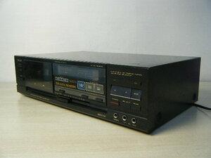 3う41●TEAC ティアック R-505 カセットデッキ 日本製 19W 100V オーディオ機器 音響機器【ジャンク品 通電OK】