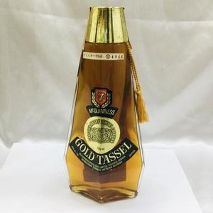 【古酒/未開栓】ゴールド タッセル 特級 カナディアン ウイスキー GOLD TASSEL 710ml 40% RS0824