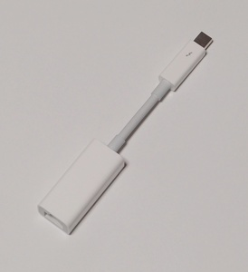 Apple Thunderbolt - ギガビットEthernetアダプタ MD463ZM/A(Model A1433)