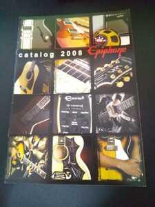 Epiphone エピフォン 2008 ギター ベース    カタログ