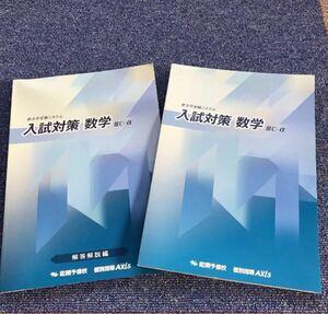 大学受験 能開予備校 入試対策数学2010発行