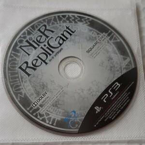 PS3 ニーアレプリカント ディスクのみ 値下げ不可